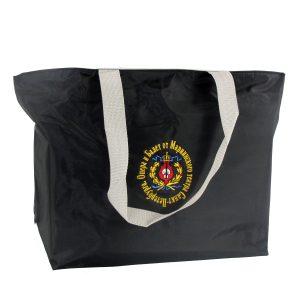 Mariinsky Embroidered Nylon Shopping Bag